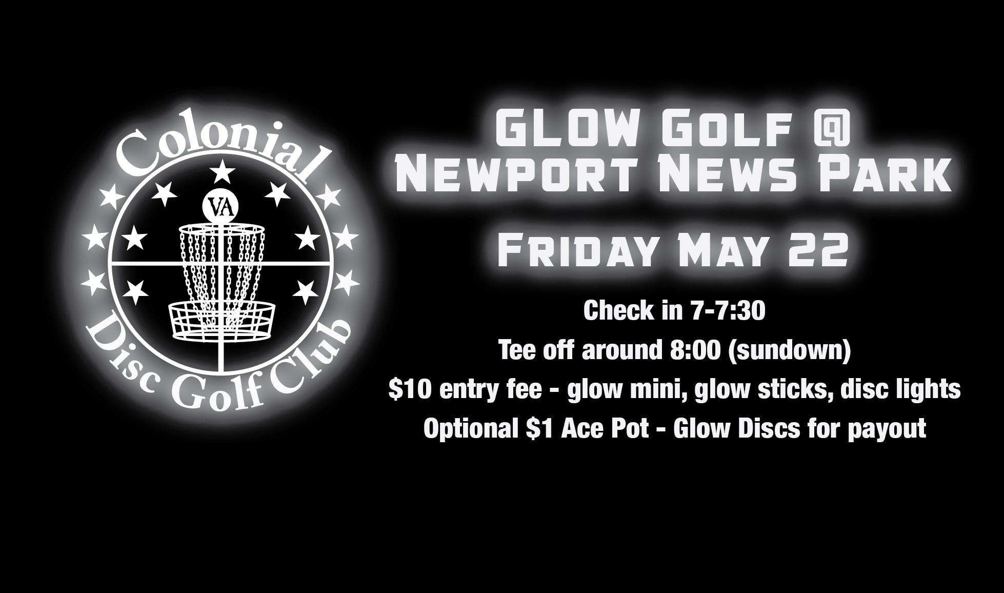 Glow Golf @ Newport News Park