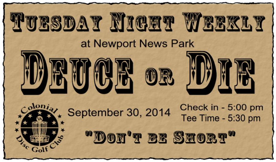 Deuce or Die Tuesday