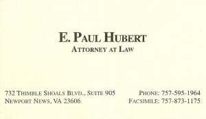 E. Paul Hubert